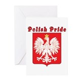 Polish Pride Eagle Greeting Cards (Pk of 10)