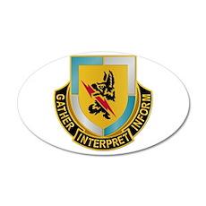 DUI - 134th Military Intelligence Bn 35x21 Oval Wa