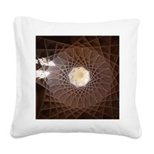 Yazd Square Canvas Pillow