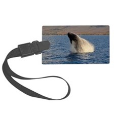 Humback Whale breach Luggage Tag