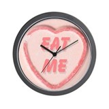 Eat Me Candy Wall Clock