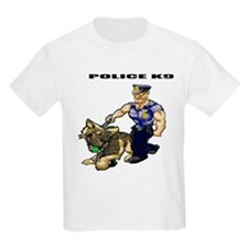 Police K9 Unit Kids T-Shirt