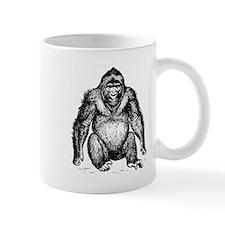 Gorilla Sketch Mugs