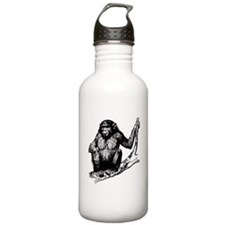 Gorilla In Tree Sports Water Bottle