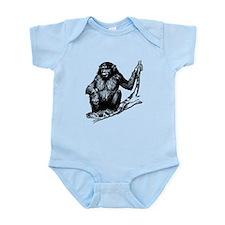 Gorilla In Tree Body Suit