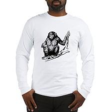 Gorilla In Tree Long Sleeve T-Shirt