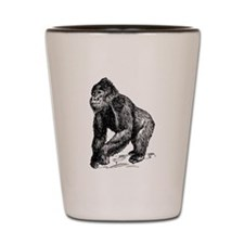 Gorilla Sketch Shot Glass