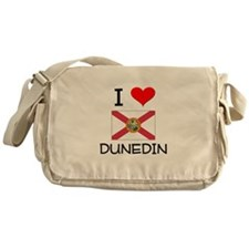 I Love DUNEDIN Florida Messenger Bag