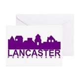 Lancaster Pennsylvania Greeting Cards (Package of