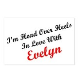 In Love with Evelyn Postcards (Package of 8)