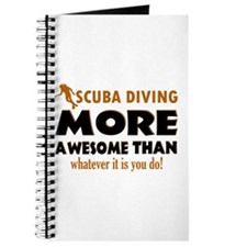 Awesome Scuba Diving designs Journal