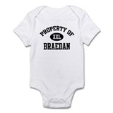Property of Braedan Onesie