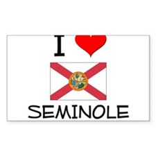 I Love SEMINOLE Florida Decal