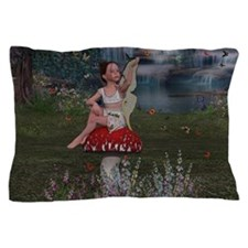 Megan, a Young Fairy Pillow Case