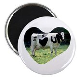 I Love You Cow Magnet