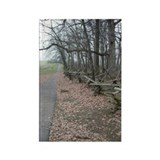 Gettysburg Path Rectangle Magnet