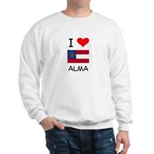 I Love ALMA Georgia Sweatshirt