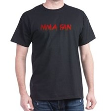 MMA Fan Black T-Shirt