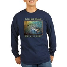Muskellunge<br>Long Slv T, BLK, RED, GREEN, BLUE
