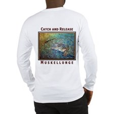 Muskellunge<br>Long Slv T-Shirt SEE BACK!