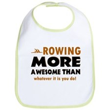 Awesome rowing designs Bib