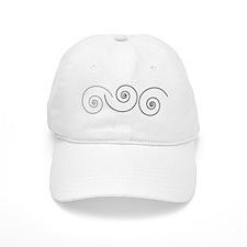 Swirls Baseball Cap