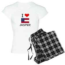 I Love JASPER Georgia Pajamas