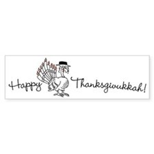 Happy Thanksgivukkah Bumper Sticker