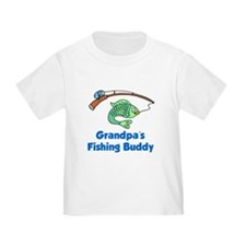 Grandpas Fishing Buddy T-Shirt