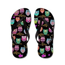 Unique Owl Flip Flops