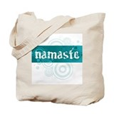 Namaste Blue - Tote Bag