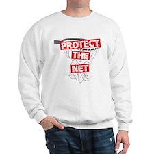 BASKETBALL PROTECT THE NET Sweatshirt