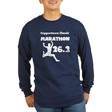 White Custom Marathon T