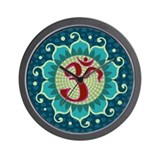 Lotus Aum - Wall Clock