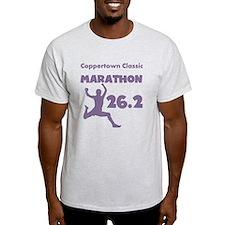 Purple Custom Marathon T-Shirt