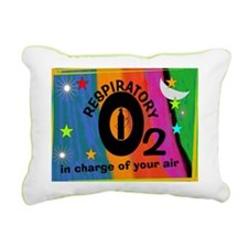 respiratory 9 Rectangular Canvas Pillow