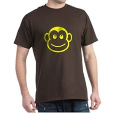 Yellow Monkey Face T-Shirt