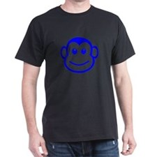 Blue Monkey Face T-Shirt