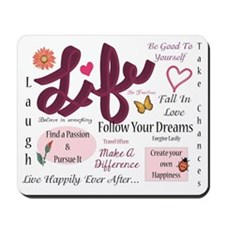 Life Lessons Mousepad