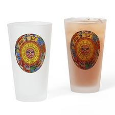 Vintage Celestial, Zodiac Wheel Drinking Glass