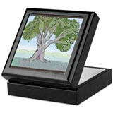 Olive Tree Keepsake Box