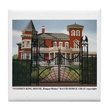 THE STEPHEN KING HOUSE TILE COASTER