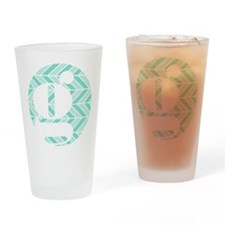 Chevron Drinking Glass