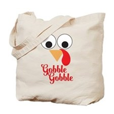 Gobble Gobble Cute Thanksgiving Baby Tote Bag