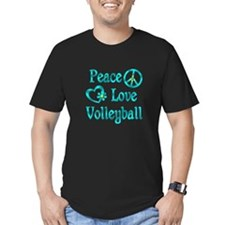 Peace Love Volleyball T