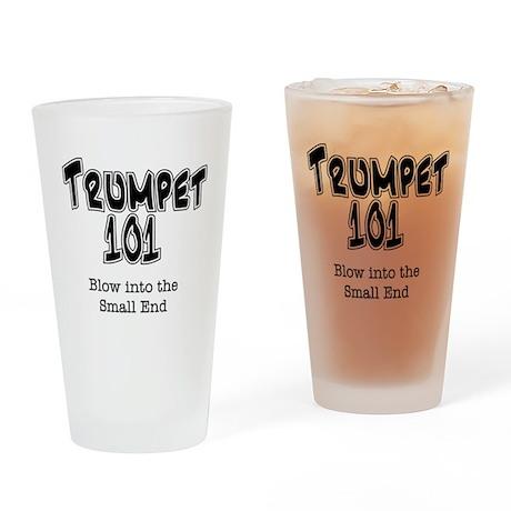 Trumpet 101 Drinking Glass