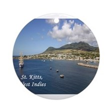St. Kitts Ornament (Round)