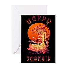 Halloween Wind-Samhain Greeting Cards