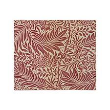 William Morris Larkspur Throw Blanket