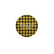Tartan - MacLeod of Lewis Mini Button (100 pack)